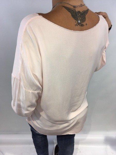 Bluzka klasyczna róż
