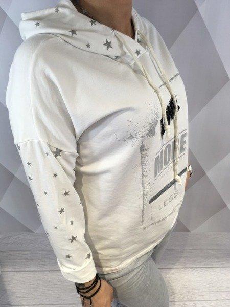 Bluza LOVE biała