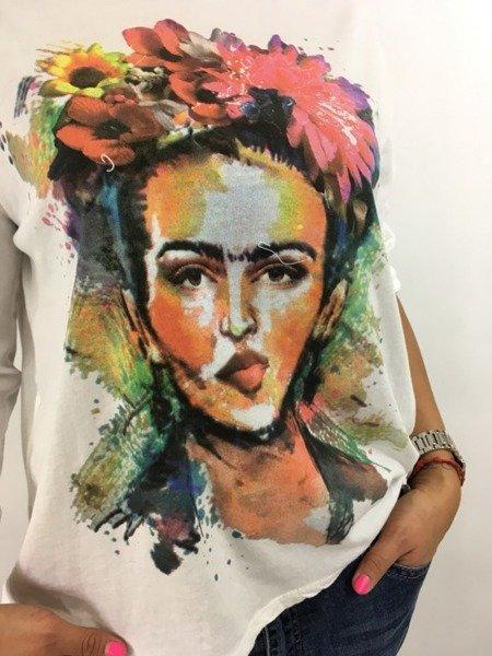 Bluzka twarz kobiety
