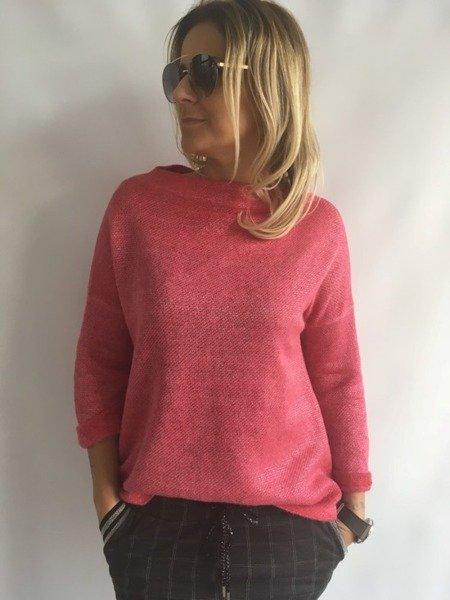Sweter  w kolorze różowym
