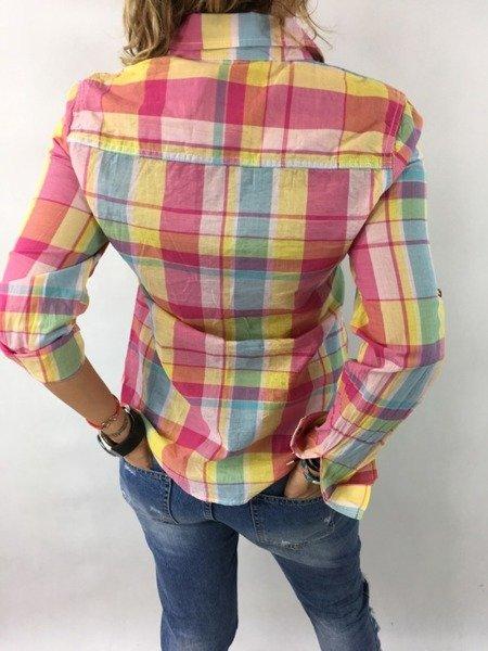 Koszula krata żółta XL