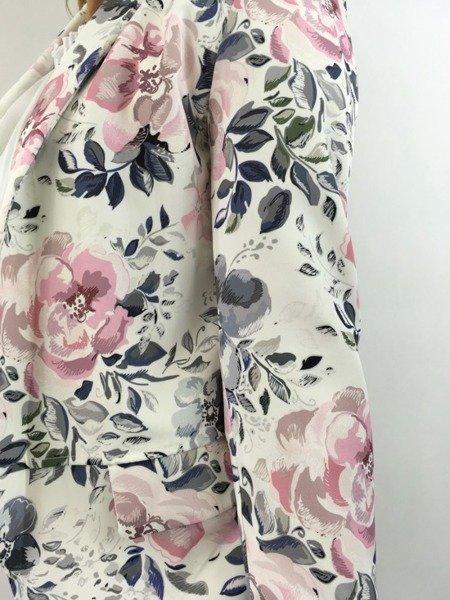 Marynarka kwiaty pastele M