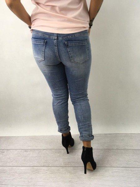 SPO180511-Spodnie jeansy L