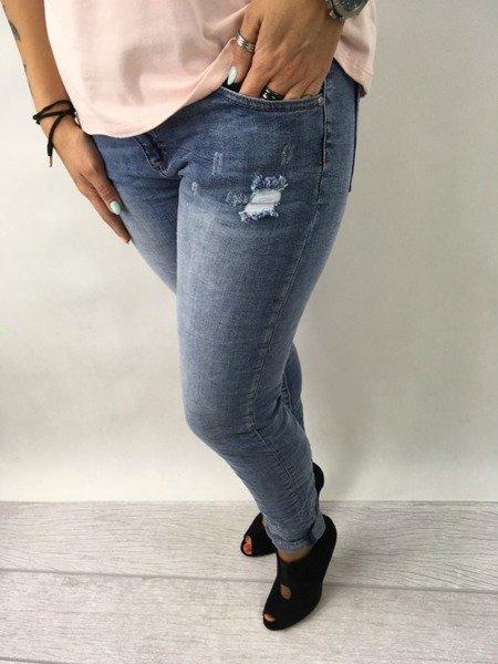 SPO180511-Spodnie jeansyXL