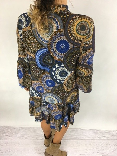 Sukienka wzór wiązana