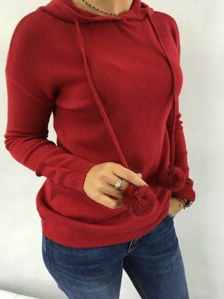 Sweter kaptur