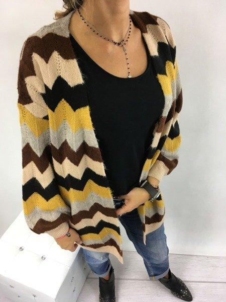 Sweter kardigan wzór
