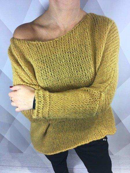 Sweter miodowy