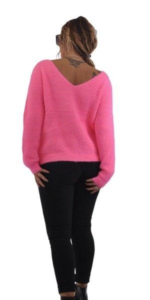 Sweter rózowy