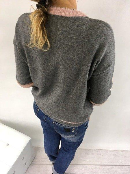 Sweter szary 8