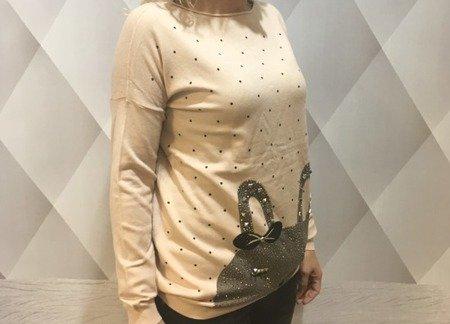 Sweter zając