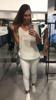 Delikatny i przewiewny biały sweterek VINTAGE