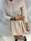 Sukienka koniczynka róż
